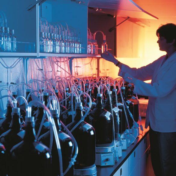 Environmental fate testing lab at EAG Laboratories