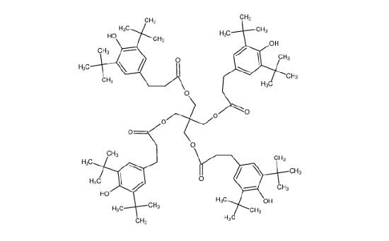 Figure 11 Irganox 1010 molecule.