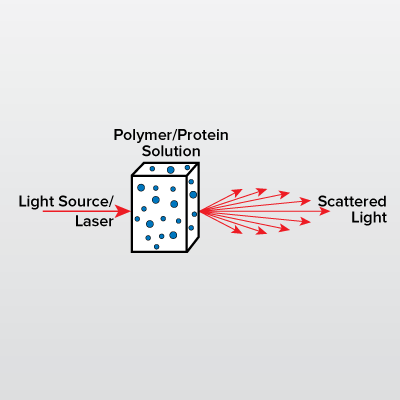 Size Exclusion Chromatography – Multi-Angle Light Scattering (SEC-MALS) icon from EAG Laboratories