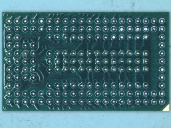 Package Delayering: solder ball side of device